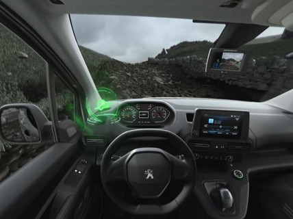 Peugeot  - Virtual Reality -  Advanced Grip Control