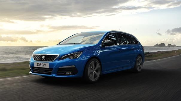 Peugeot 308 SW Blue Lease