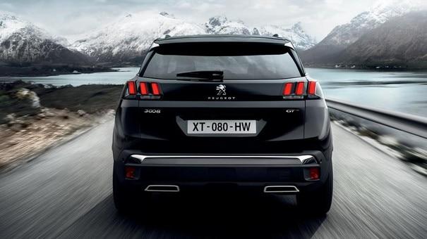 Peugeot 3008 SUV - LED achterlichten