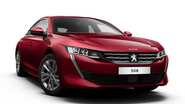 Peugeot 508 Blue Lease Allure