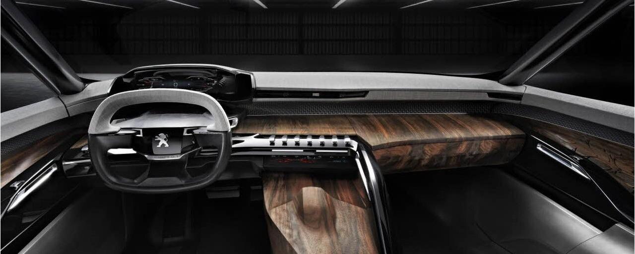 Peugeot Exalt - de Peugeot i-Cockpit