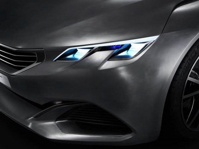 Peugeot Exalt - indrukwekkende motor