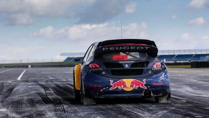 Peugeot 208 WRX - achterzijde