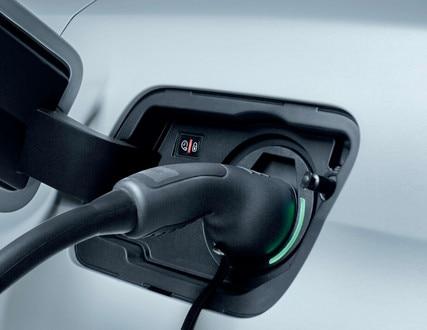Peugeot 3008 SUV HYBRID4: controlelampje klep lader