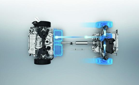 Peugeot 3008 SUV HYBRID4: regeneratief remmen