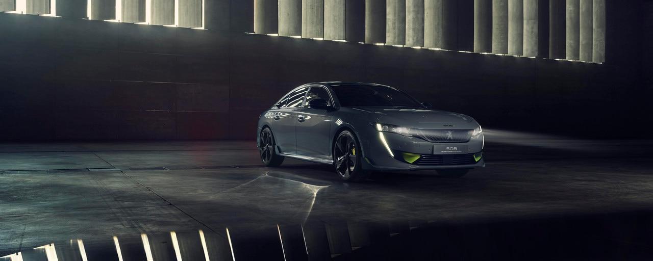 hybride concept car Peugeot 508 PEUGEOT SPORT ENGINEERED - De kracht van technologie