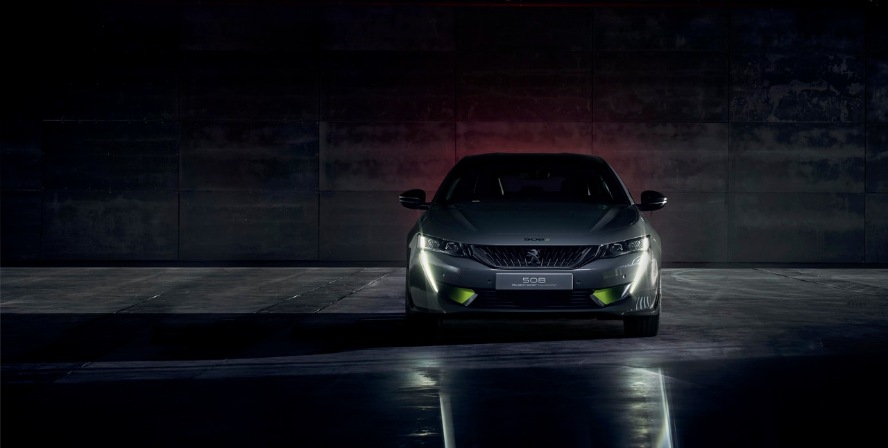 hybride concept car Peugeot 508 PEUGEOT SPORT ENGINEERED - Ultieme sportiviteit