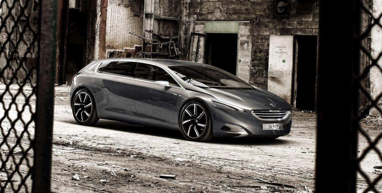 Peugeot HX1 - concept car