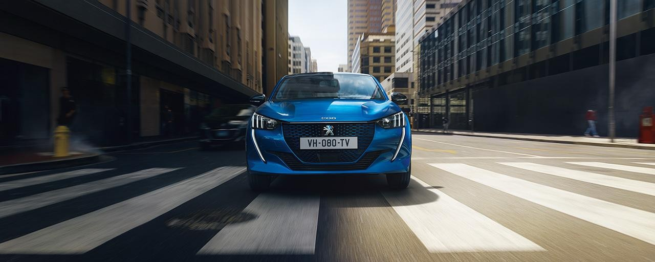 Nieuwe Peugeot e-208 - electrische auto