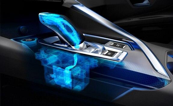 Peugeot 3008 SUV HYBRID4: e-EAT8-transmissie