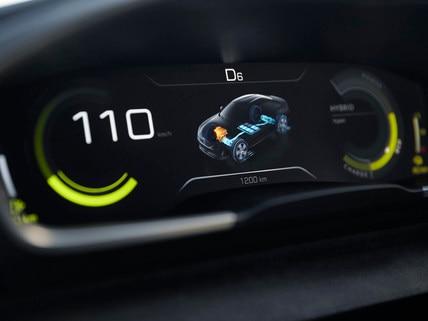 hybride concept car Peugeot 508 PEUGEOT SPORT ENGINEERED - Dashboard