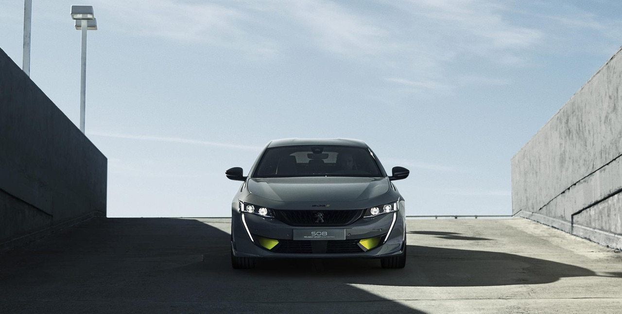 hybride concept car Peugeot 508 PEUGEOT SPORT ENGINEERED - de kracht van technologie