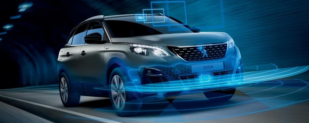 Peugeot 3008 SUV - Veiligheid en rijhulpsystemen