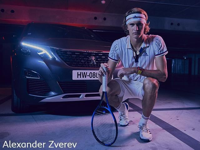 Peugeot Tennis - Ambassadeur Alexander Zverev