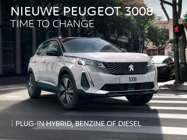 Nieuwe Peugeot 3008 - Time to change