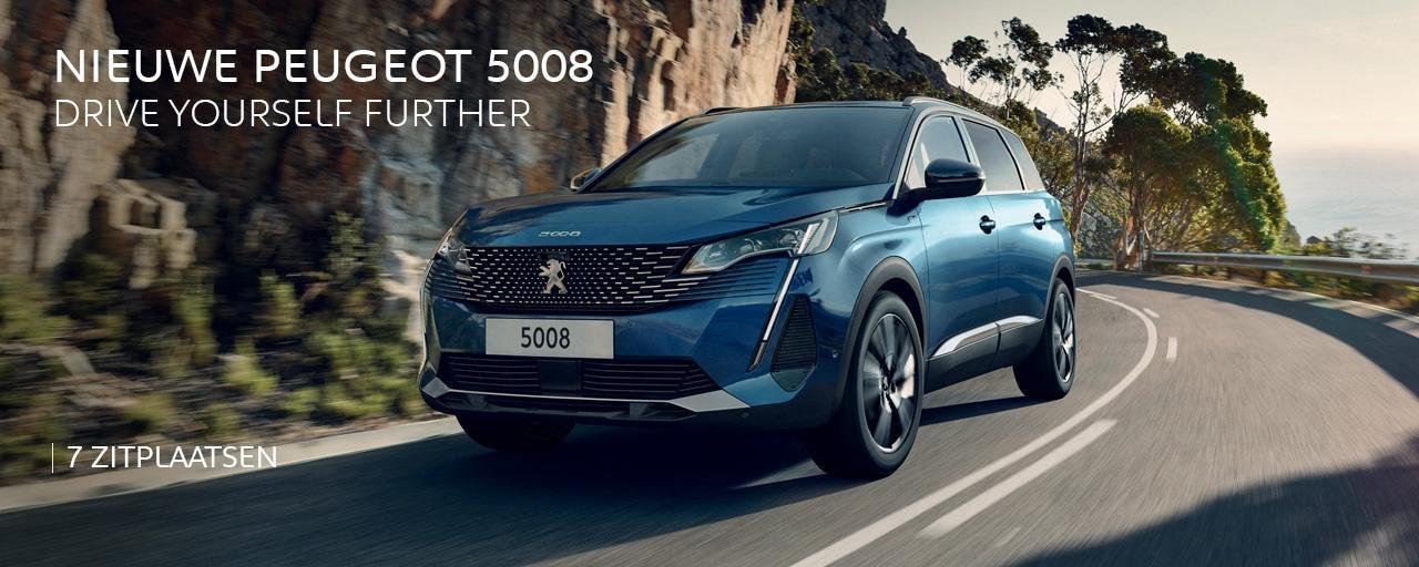 Nieuwe Peugeot 5008 - Drive yourself further
