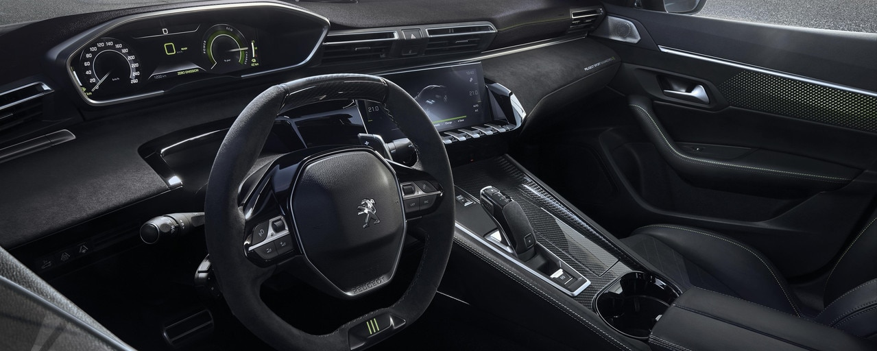 hybride concept car Peugeot 508 PEUGEOT SPORT ENGINEERED - interieur PEUGEOT i-Cockpit