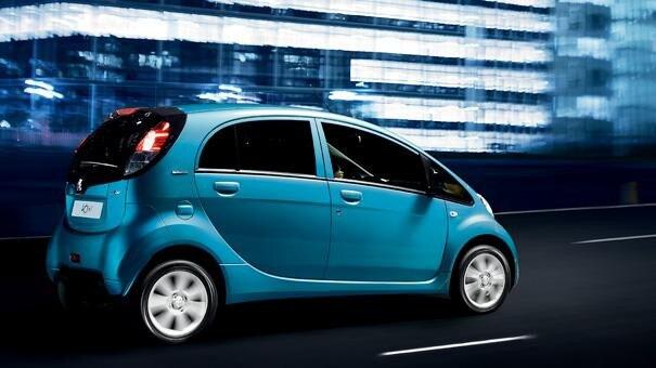 Peugeot iOn - wendbaarheid
