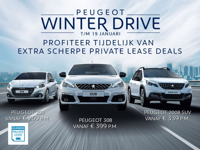 Peugeot Winter Drive - t/m 19 januari