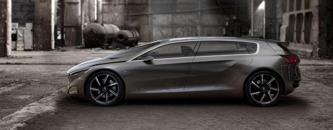 Peugeot HX1 - exterieur design