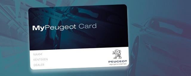 MyPeugeotCard