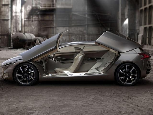 Peugeot HX1 - interieur design