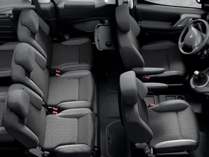 Peugeot Partner Tepee - zitplaatsen
