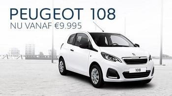 Peugeot 108 - Nu vanaf €9.995