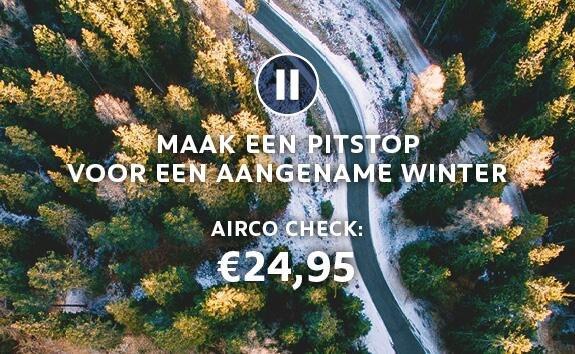 Airco Check - Maak een pitstop voor een aangename winter