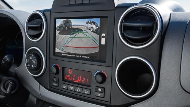 Peugeot Partner Tepee - multimedia-touchscreen