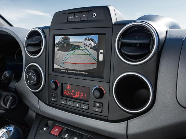 Peugeot Partner Tepee - multimedia-touchscreen