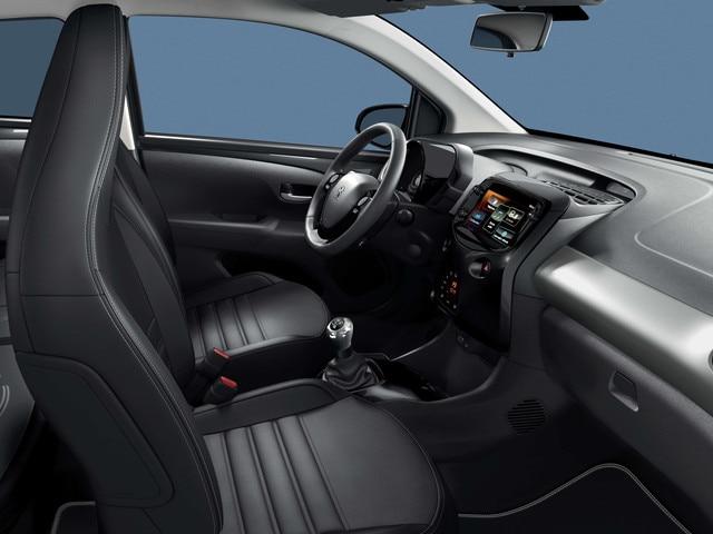 Peugeot 108 – Ruim interieur