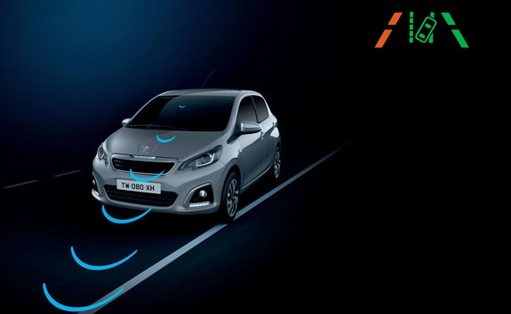 Peugeot 108 – LANE DEPARTURE WARNING SYSTEM