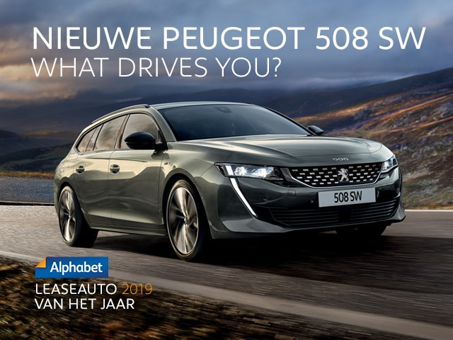 Nieuwe Peugeot 508 SW - What drives you?