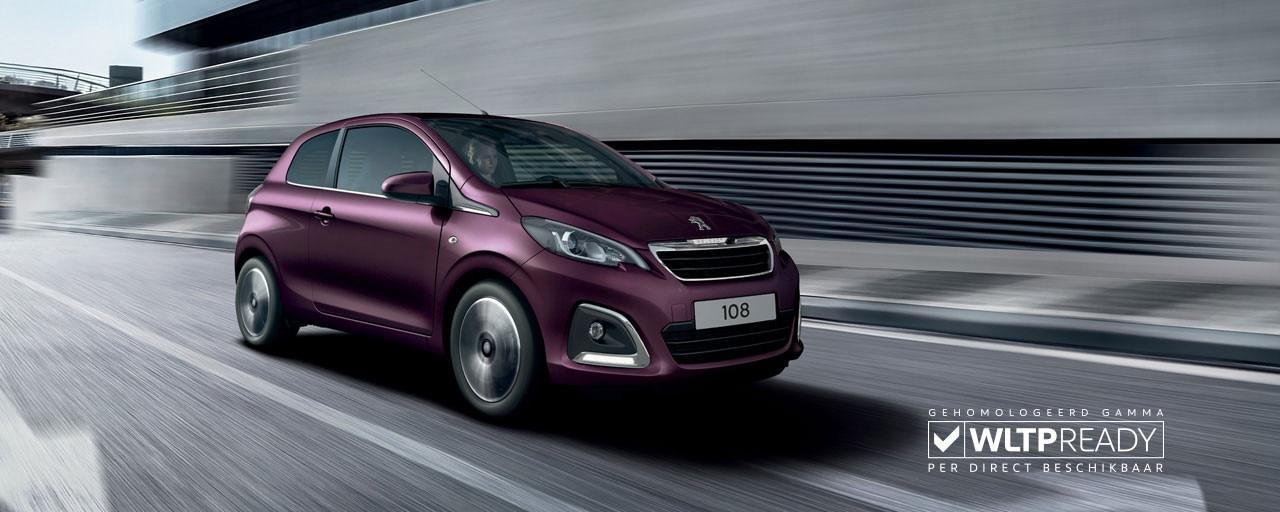Peugeot 108 3 deurs - compacte stadsauto