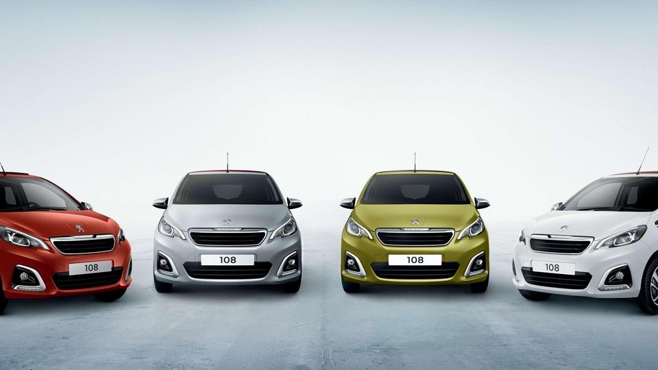 Peugeot 108 – Speciale serie Collection