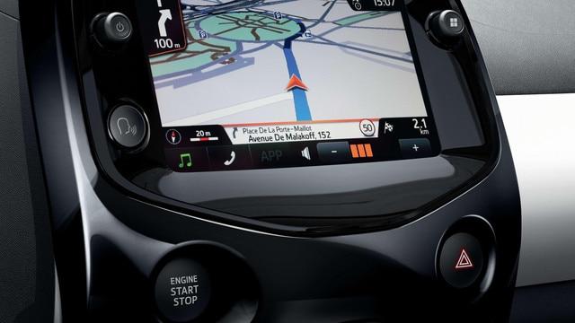 Peugeot 108 – Touchscreen en navigatie