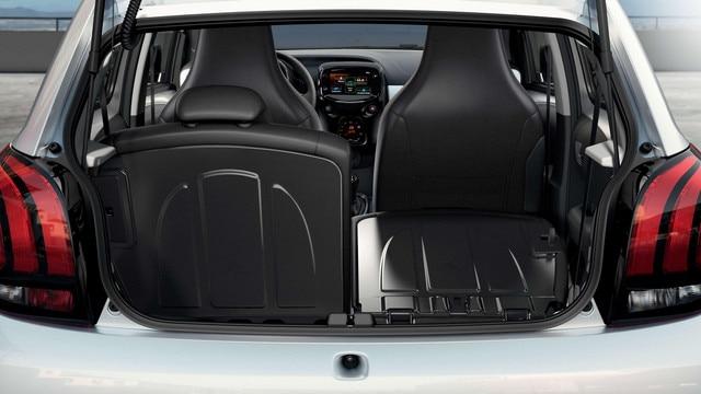 Peugeot 108 – Grote bagageruimte