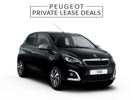 Peugeot 108 Allure - Private Lease Deal