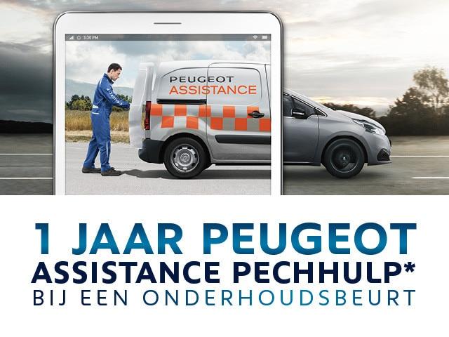 1 Jaar Peugeot Assistance Pechhulp bij een onderhoudsbeurt