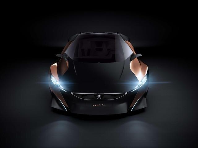 Peugeot ONYX - exterieur voorzijde