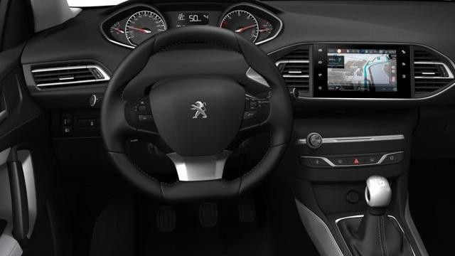Peugeot 308 SW - interieur