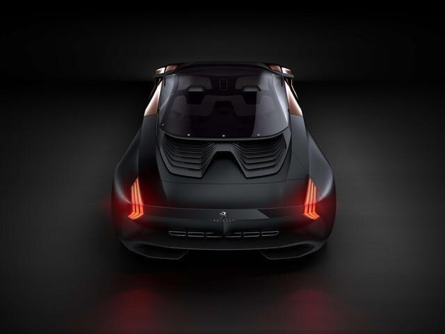 Peugeot ONYX - exterieur achterzijde