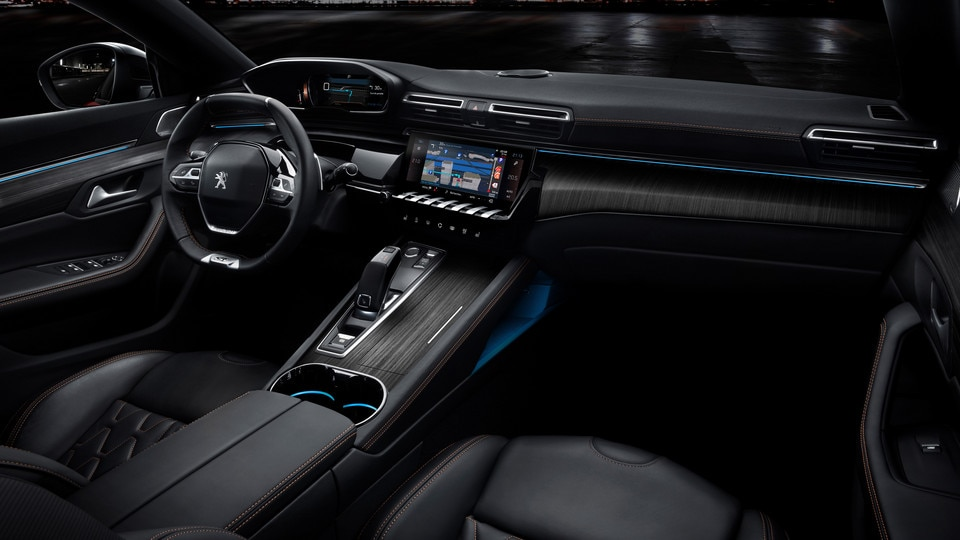 Nieuwe Peugeot 508 - PEUGEOT i-Cockpit®