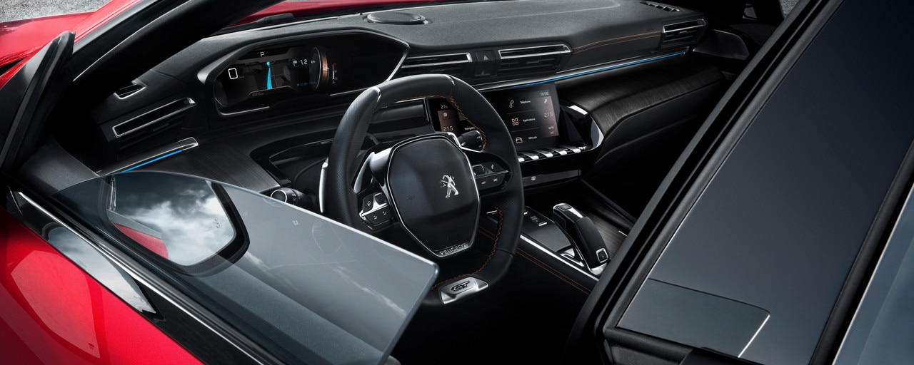 Nieuwe Peugeot 508 - Interieurdesign