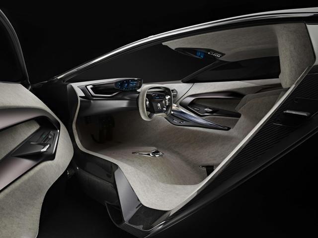 Peugeot ONYX - interieur design