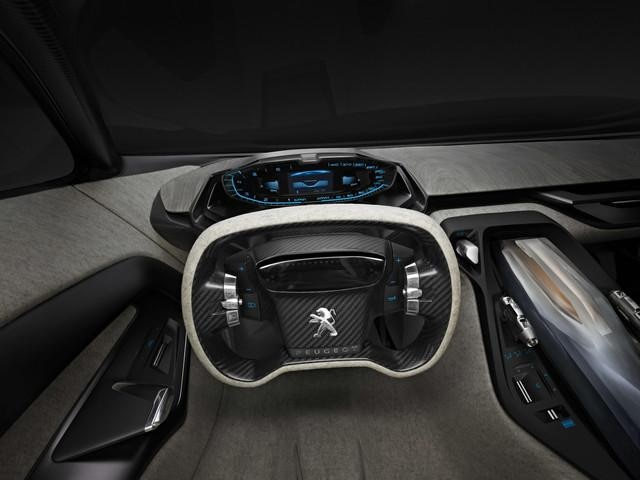 Peugeot ONYX - interieur dashboard