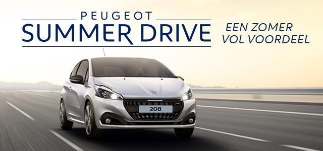 Peugeot Summer Drive - Een zomer vol voordeel - Peugeot 208