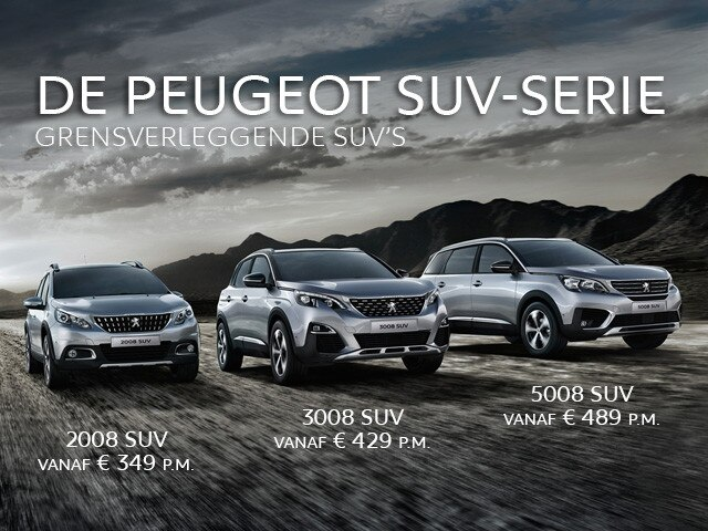 Peugeot SUV-serie - Private-Lease-Voordeel
