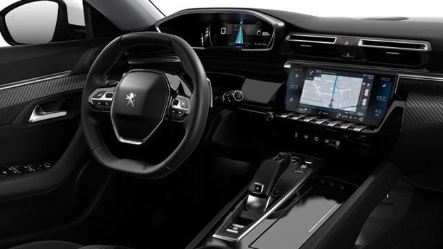 Nieuwe Peugeot 508 Berline - interieur